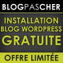 Créer un blog WordPress Pas cher