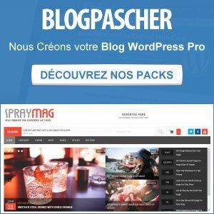 Créez votre blog WordPress