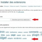 Comment installer un plugin dans WordPress