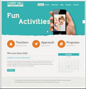 carry-hill-theme-wordpress