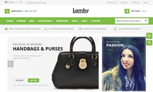 3209af3ee Smile: um tema Magento para criar uma boutique de moda | BlogPasCher