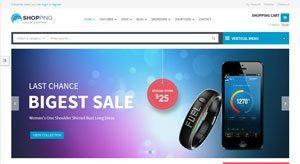 Shopping-theme-wordpress-woocommerce-creer-boutique-vendre-electronique-ordinateur