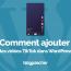 Comment Intégrer Vidéos Tiktok Wordpress Blogpascher 1