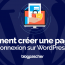 Comment Creer Page Connexion Wordpress