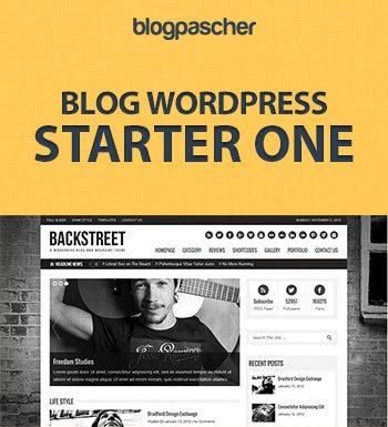 Création Blog WordPress – Starter1