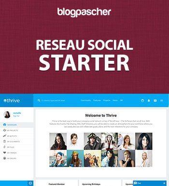 Créer Un Réseau Social – Starter