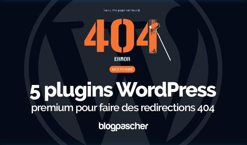 07f89b26b4e6ed 5 premium WordPress wtyczki do przekierowań 404   BlogPasCher