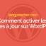 Comment Activer Les Mises à Jour Automatiques Des Plugins WordPress