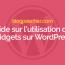 Guide Sur L'utilisation Des Widgets Sur WordPress