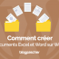 Comment Creer Documents Excel Word Wordpress