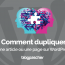 Comment Dupliquer Article Page Wordpress