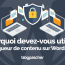 Pourquoi Utiliser Bloqueur Contenu Wordpress