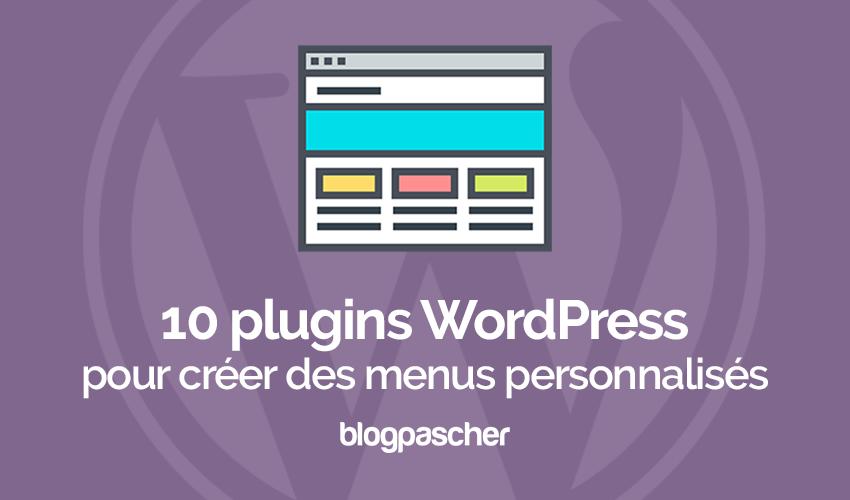 10 WordPress plugins para crear menús personalizados | BlogPasCher