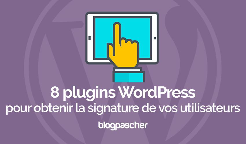 8 plugins de WordPress para obtener la firma de los usuarios ...