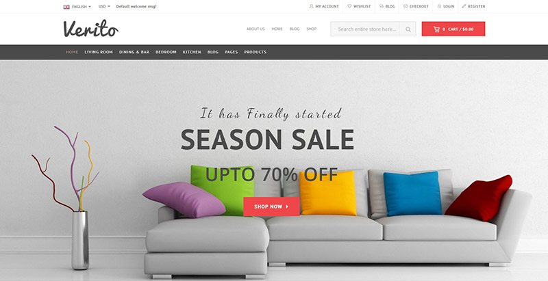 10 th mes wordpress pour vendre des meubles blogpascher. Black Bedroom Furniture Sets. Home Design Ideas