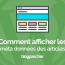 Comment Afficher Les Méta Données Dun Article Sur Wordpress