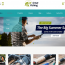 Fishing Hunting Themes Wordpress Creer Entreprise Club Peche