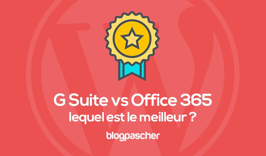 Comparación de G-Suite y Office 365: ¿cuál elegir?