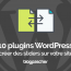 Plugins Wordpress Creer Sliders Votre Site Web Diaporamas Diapositive 1
