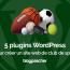 Plugins Creer Site Web Wordpress Sport