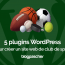 Плагины Создание сайта Wordpress Sport