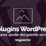 Plugin Wordpress Ajouter Galeries Blog