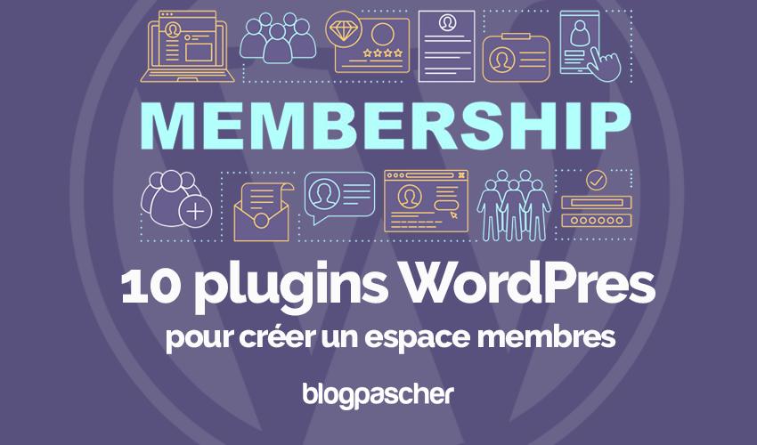 Plugins wordpress creer espace membres proteger contenu