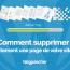Comment Supprimer Correctement Page Site Web Seo